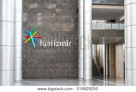 Izmir, Turkey - 25 May 2019: Fuar Izmir Gaziemir Is The Most Modern And Newest Exhibition Hair Cente