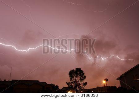 Horizontal Light Bolt