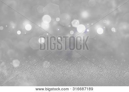 Cute Bright Abstract Background Glitter Lights Defocused Bokeh - Festal Mockup Texture With Blank Sp