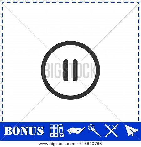 Pause Button Images, Illustrations & Vectors (Free) - Bigstock