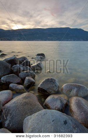Scenic View of Okanagan Valley and lake