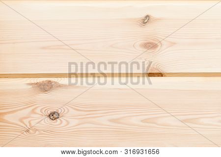 Wood Glued timber plank close up background. Wooden construction glued laminated timber in the wall of the house. Glued beams texture. Natural pattern pine wood background. poster