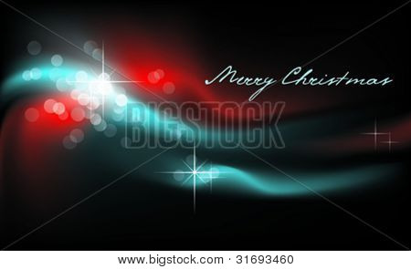 Christmas lights. Vector. (CMYK-model convertible into RGB)