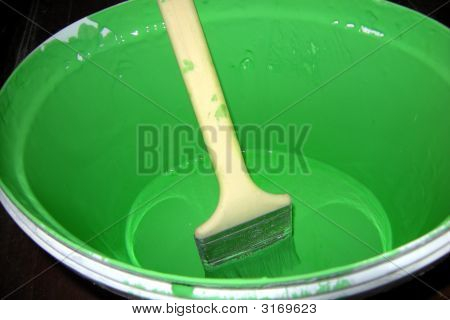 Paint Brush Green