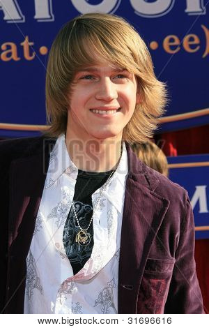 LOS ANGELES, CA - JUNE 22: Jason Dolley at the world premiere of 'Ratatouille' at the Kodak Theater in on June 22, 2007 in Los Angeles, California