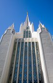 Temple of The Church of Jesus Christ of Latter-Day Saints (LDS) or Mormons in San Diego California poster