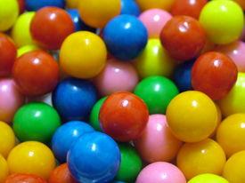 Colored Gumballs