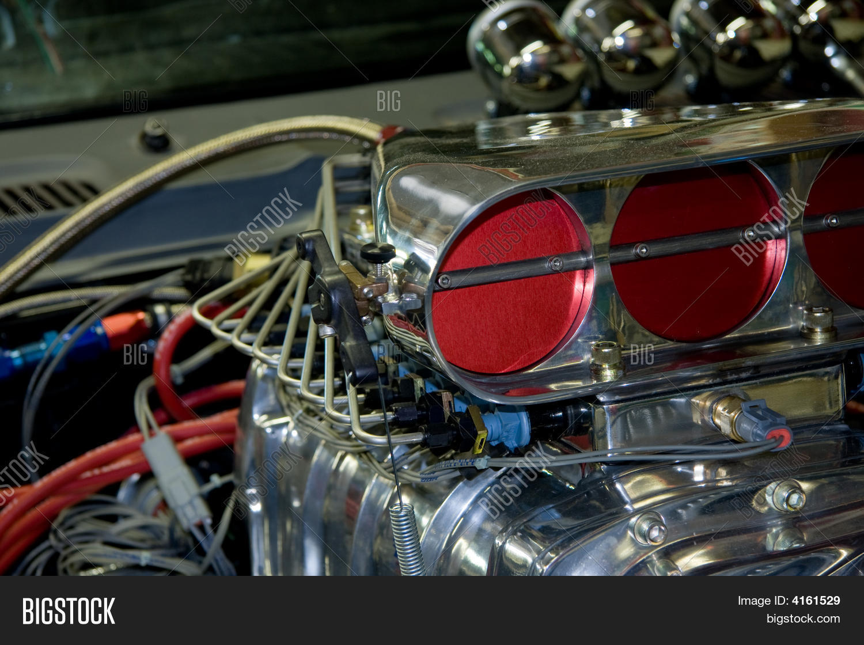 Car Engine Blower : Car engine blower image photo bigstock