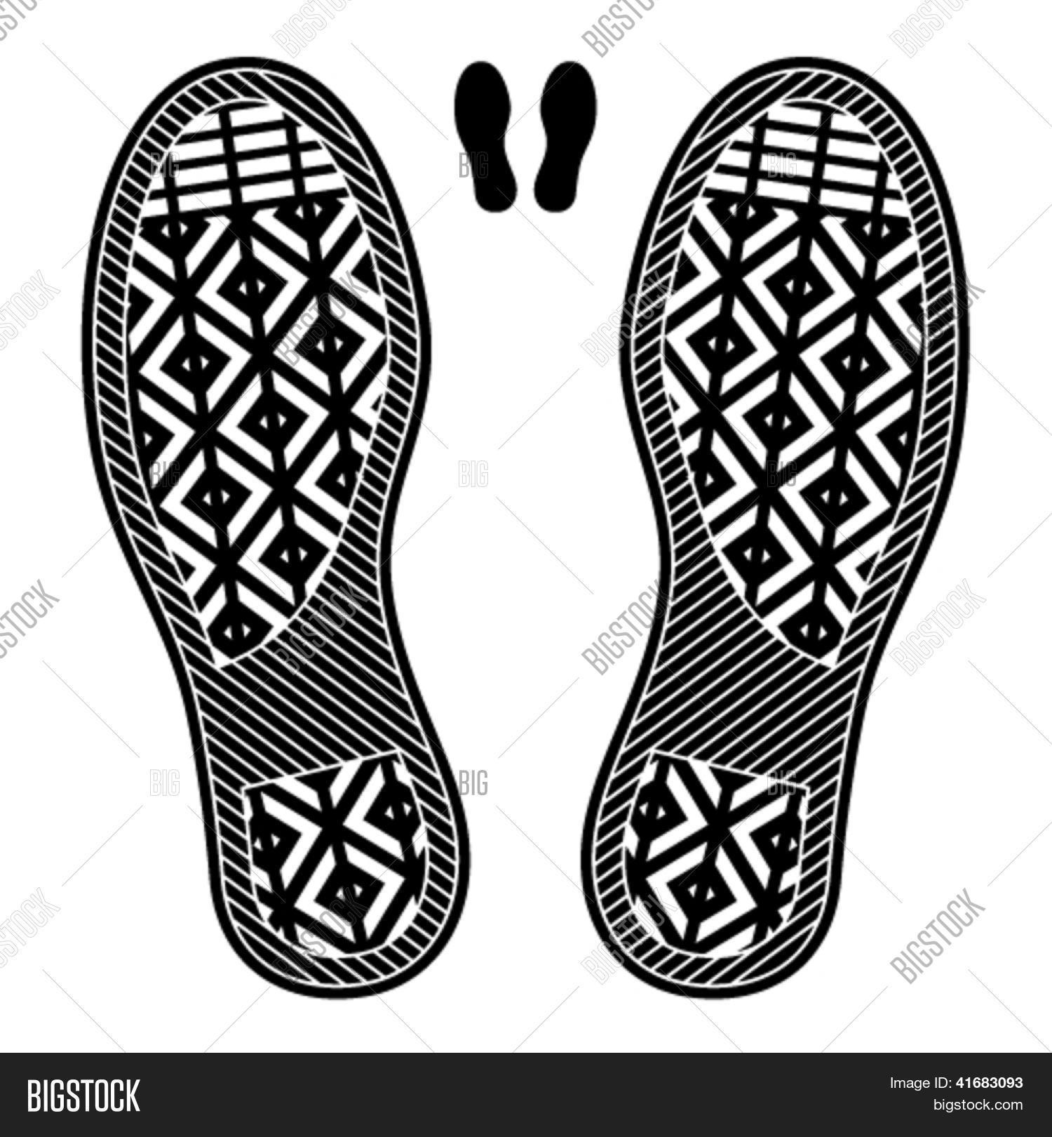 Vector GratisBigstock Zapatoprueba Y Foto Huellas De XZwPiuTlkO