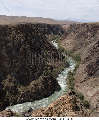 Charyn River And Canyon