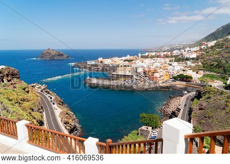 View Of Garachico Picturesque Town, Canarias Islands, Spain