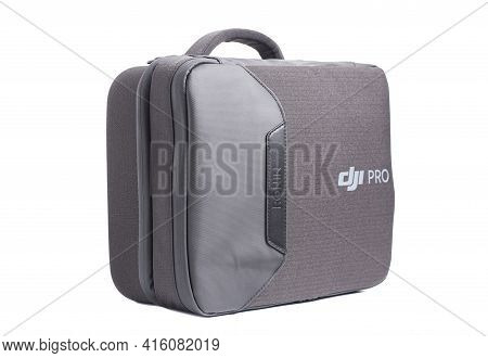 Moscow, Russia April 08, 2021 Portable Bag For Dji-ronin Rsc2 Pro Isolated On White Background.
