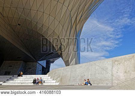 Lyon, France, February 19, 2021 : Rest Under The