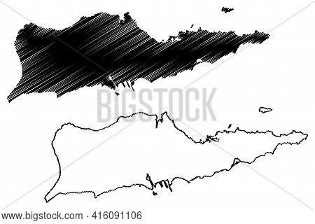 Saint Croix District, United States Virgin Islands (u.s. County, United States Of America, Usa, U.s.