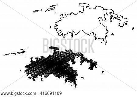 Saint John District, United States Virgin Islands (u.s. County, United States Of America, Usa, U.s.,