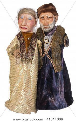 Old Aristocrat Eastern Europe Couple