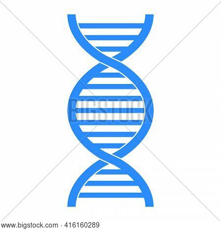 Medical Scientific Twisted Helix Structure Abstract Model Of Dna Genes