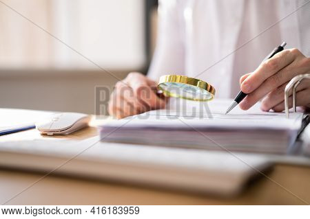 Tax Accounting Fraud Investigation And Audit Inspection