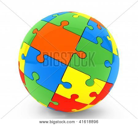 Sphere From Puzzles