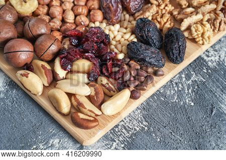 Different Nuts. Home Kitchen. Protein And Fat Food. Mix Seeds. Raw Whole Snack. Munchies. Natural Cu