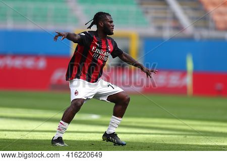 Milano, Italy. 03th April 2021 . Franck Kessie Of Ac Milan  During The Serie A Match Between Ac Mila