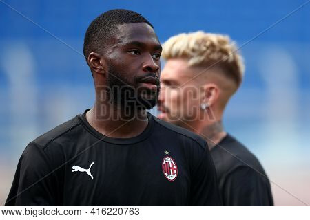 Milano, Italy. 03th April 2021 . Fikayo Tomori Of Ac Milan  During The Serie A Match Between Ac Mila