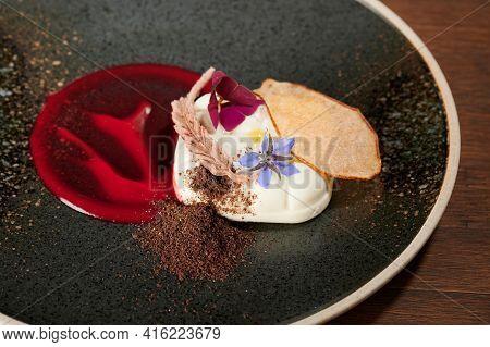 Italian Panna Cotta Dessert
