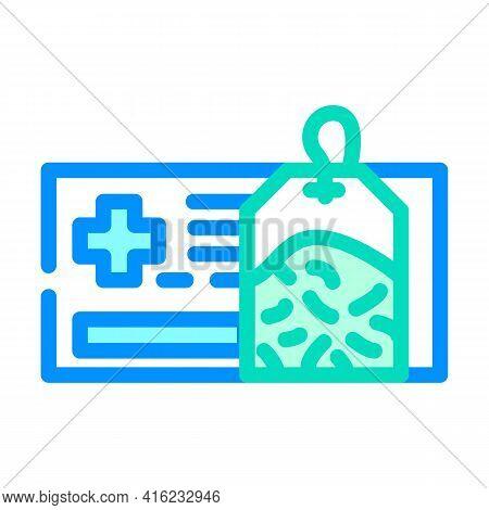 Healing Health Tea Color Icon Vector. Healing Health Tea Sign. Isolated Symbol Illustration
