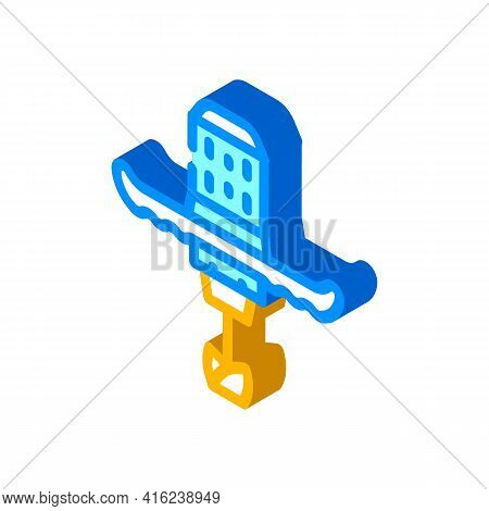 Mixer Tool Isometric Icon Vector. Mixer Tool Sign. Isolated Symbol Illustration