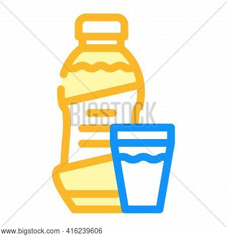 Syrup Canned Food Color Icon Vector. Syrup Canned Food Sign. Isolated Symbol Illustration