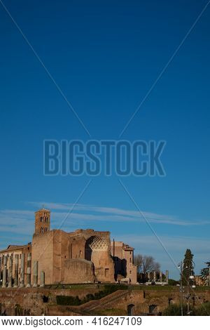 Temple Of Venus And Rome, Rome, Italy