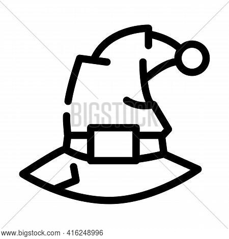 Fantasy Event Line Icon Vector. Fantasy Event Sign. Isolated Contour Symbol Black Illustration
