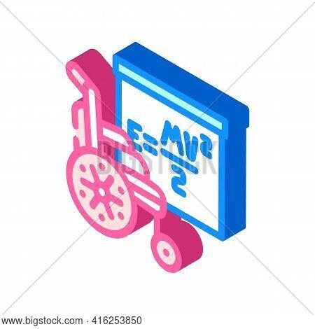 Training Inclusive Life Isometric Icon Vector. Training Inclusive Life Sign. Isolated Symbol Illustr