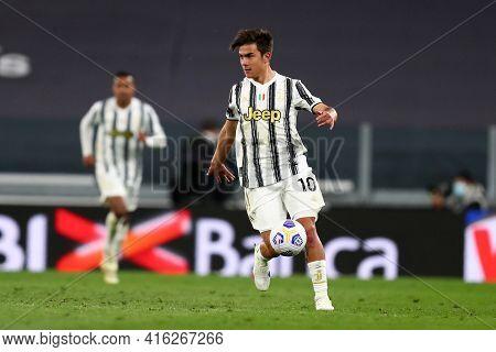 Torino, Italy. 07 April 2021. Paulo Dybala Of Juventus Fc  During The Serie A Match Between Juventus