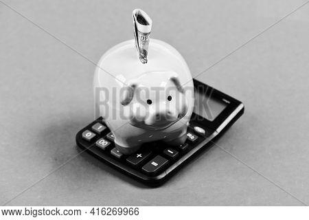 Savings Account. Savings Deposit Is Convenient Flexible Way Depositing Savings. Money Savings. Econo