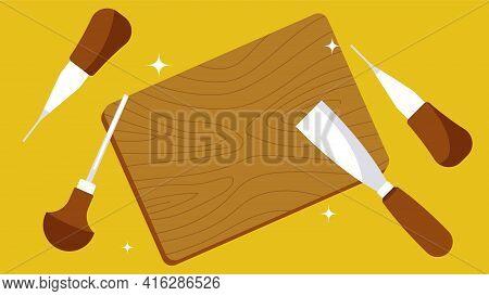 Wood Carving Set. Wood Carving Tools. Hobbies, Hobby, Carpentry, Crafts.