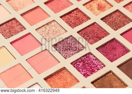 Make Up Palette Set. Professional Multicolor Eyeshadow Palette. Makeup. Professional Multicolor Eye