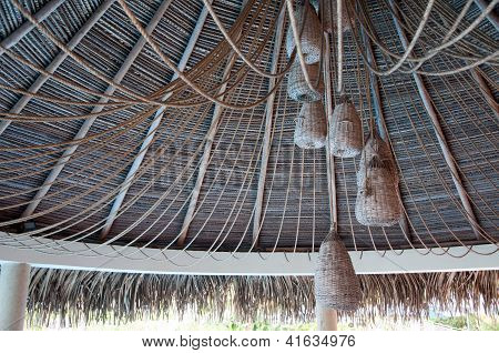 Straw Ceiling/Roof