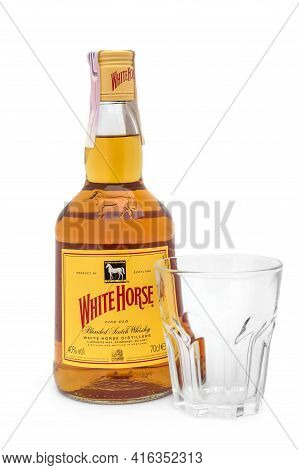 Ternopil, Ukraine - November 18, 2019: Blended Scotch Whisky