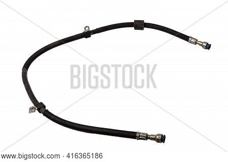 A Plastic Pipe Is Part Of The Vehicle's Fuel System, Which Supplies Gasoline Under Pressure To The E