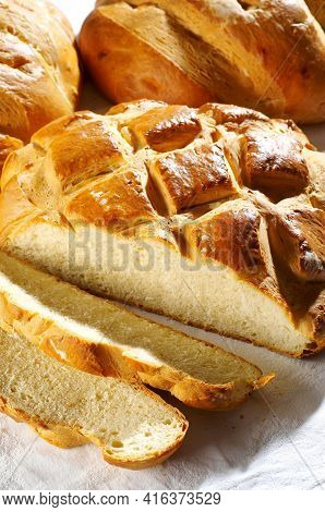 Detail Of Traditional Slovenian Bread