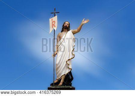 Risen Jesus Christ Image Of The Catholic Church - Catholic Symbol