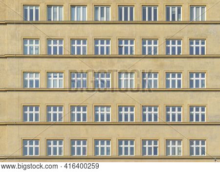 Krakow Poland August 2020. Office Windows, Krakow, Lesser Poland, Poland Europe