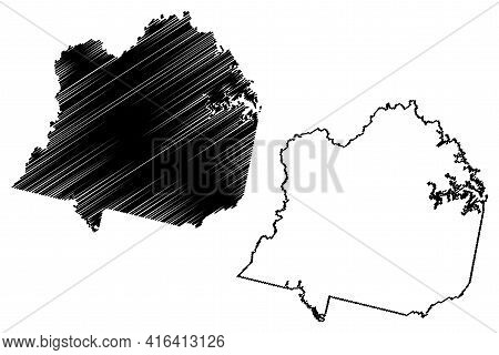 Franklin County, Commonwealth Of Virginia (u.s. County, United States Of America, Usa, U.s., Us) Map