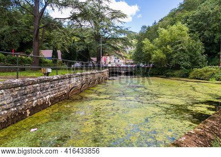 Editorial, Mill Pond In Village Of Cheddar