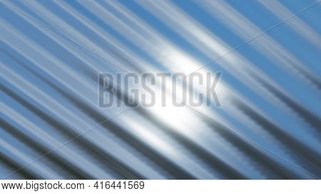 Silver chrome metal texture with waves, liquid silver metallic silk wavy design, 3D render illustration.