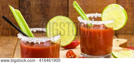 Caesar Drink, Canada National Cocktail, Drink Made To Celebrate Victory Day