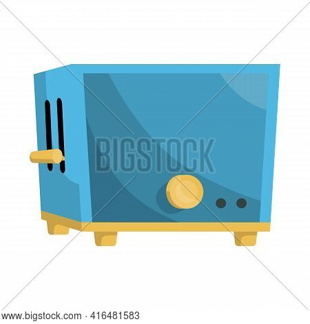 Vector Design Of Toaster And Kitchen Logo. Web Element Of Toaster And Oven Vector Icon For Stock.