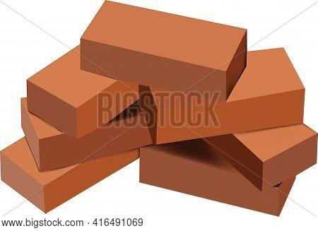 Terracotta Bricks In Groups Terracotta Bricks In Groups