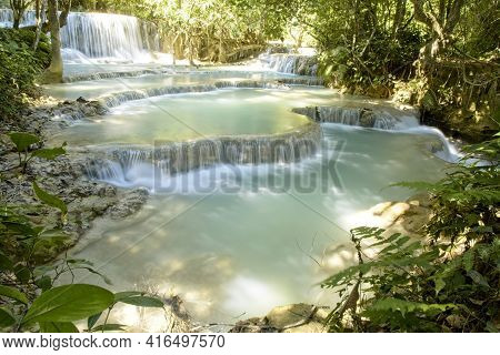 Beauty In Nature, Laos, Luang Prabang, Patterns In Nature, Rivers, Slow Motion, Slow Motion Water, T